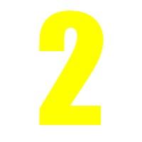 Yellow Wheelie Bin Number 2