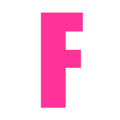 pink wheelie bin letter f bespoke wheelie bin numbers and decals